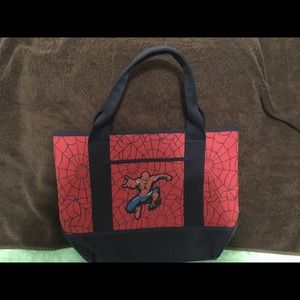 Pottery Barn Kids Accessories - Pottery Barn Kids Spider-Man Canvas Tote